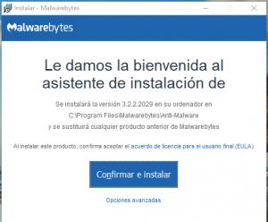 malwarebytes instalacion